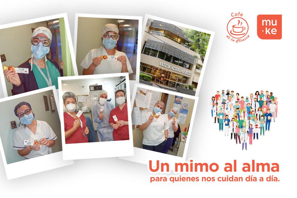 Agradecimiento a todo el personal de la clinica monte grande - Muke